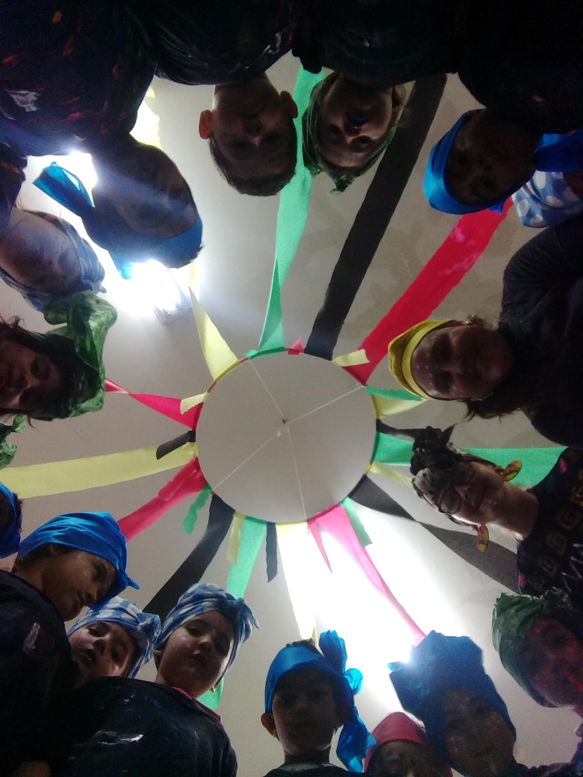 festa crianças africanas
