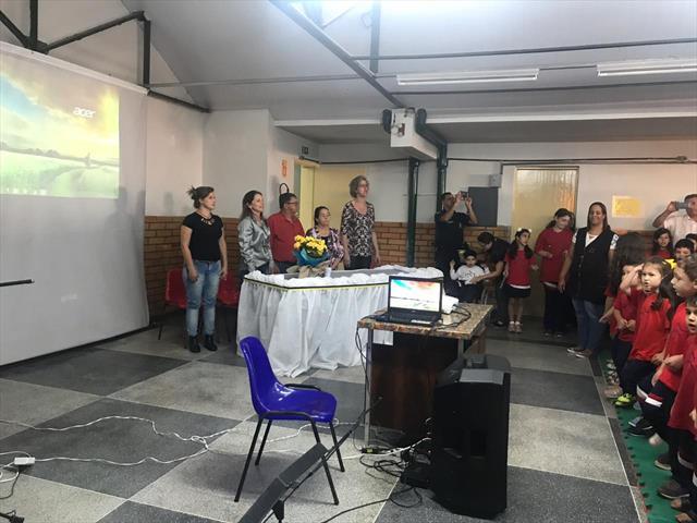 Reinauguração da Biblioteca Escola Profª Marcia Regina Francisco