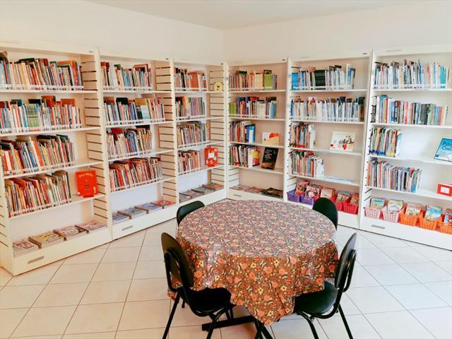 Reinauguração da Biblioteca da Escola Municipal Professor Erasmo Pilotto