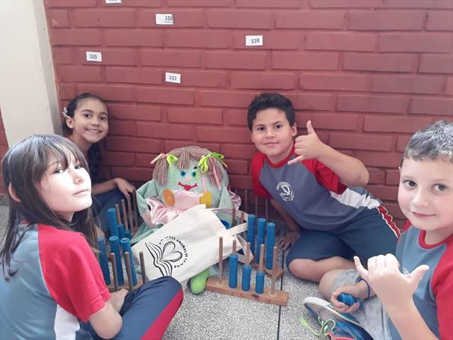 Comemoração ao Dia Nacional da Matemática na Escola Municipal Julia Amaral Di Lenna