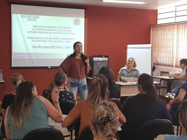 Reunião Mensal com as Equipes Gestoras do NRE Matriz