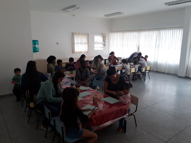 Integraçao com as familias, sobre o projeto: Quem