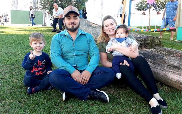 Piquenique com as famílias