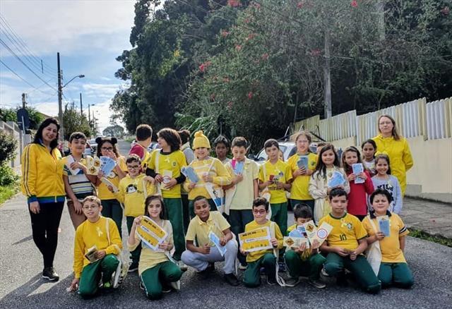 CAMPANHA MAIO AMARELO - BLITZ EDUCATIVA