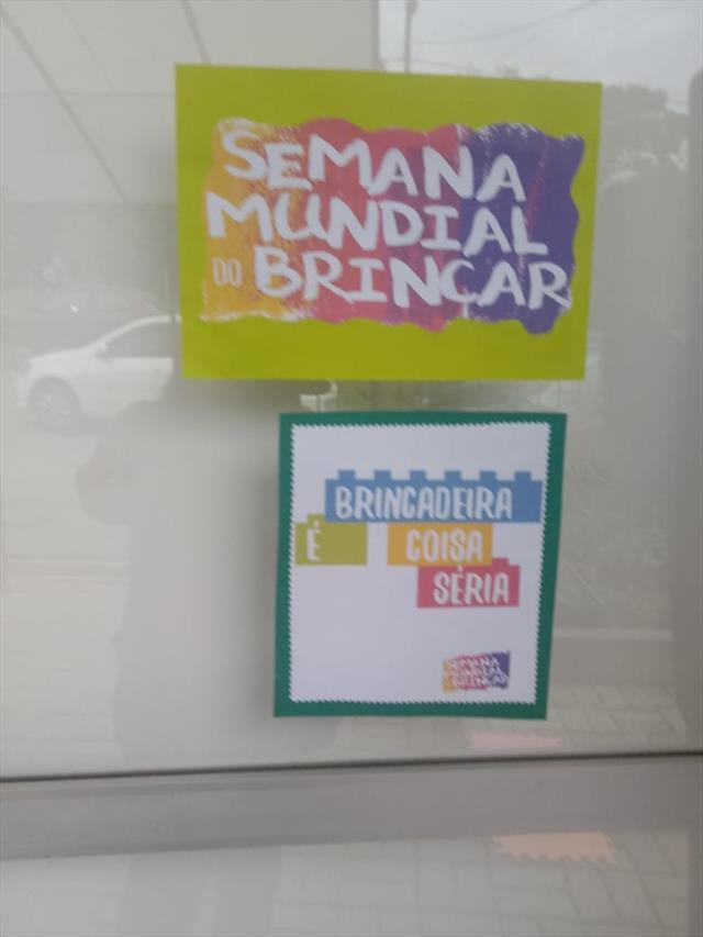 SEMANA MUNDIAL DO BRINCAR 2019