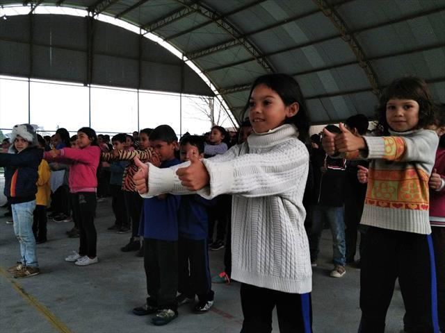 Dia do desafio movimenta alunos do Pilarzinho