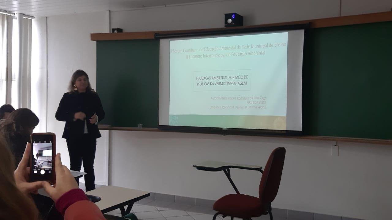 NRE Boa Vista no III Fórum Curitibano de Educação Ambiental