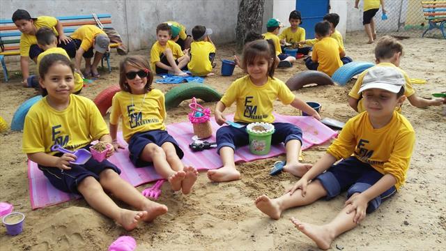 Unidades educacionais da Regional Boa Vista celebram a Semana Mundial do Brincar