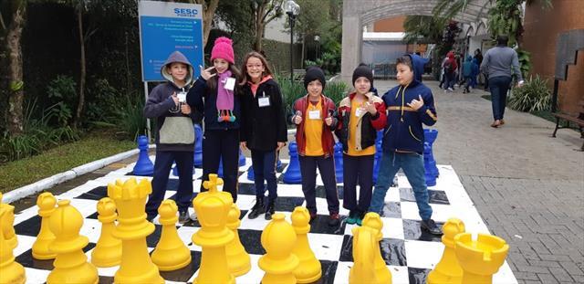 """CEI Érico Veríssimo no torneio de Xadrez """"Xeque Mate"""""""