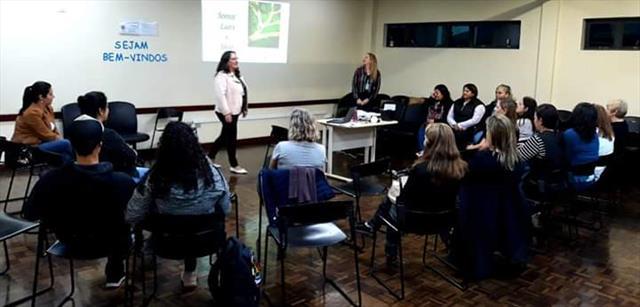 1ª Reunião da Escola de  Pais NRE Portão