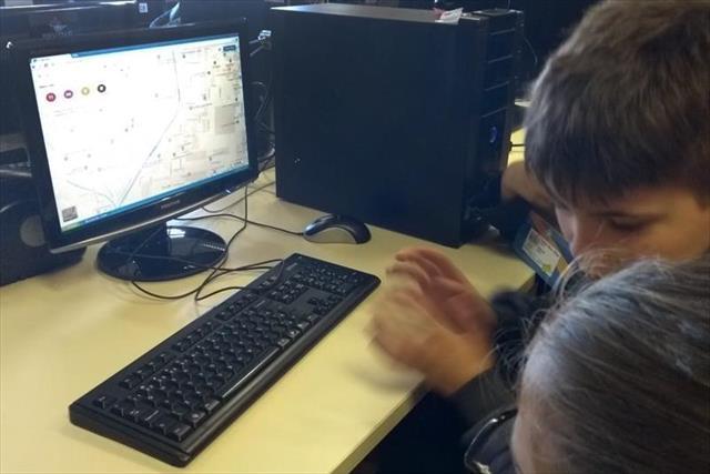 Curitibinhas aprendem geografia com recurso de int