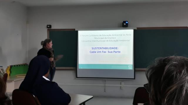 III Fórum Curitibano de Educação Ambiental da Rede Municipal de Ensino integra profissionais da educação