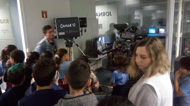 Visita a RPC TV - 4ºA