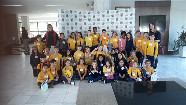 Os alunos do Érico Veríssimo na ALEP