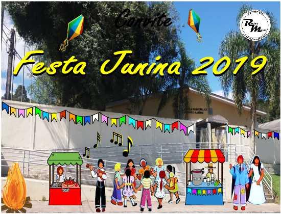 Festa Junina 2019 - EM CEI Romário Martins