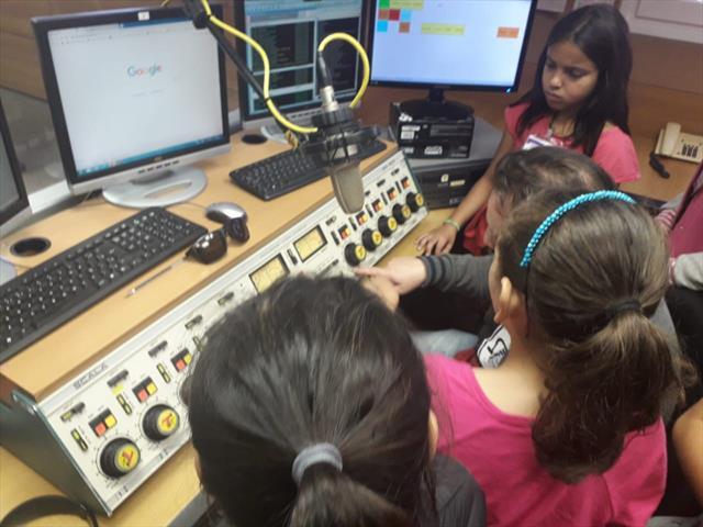 visita a Radio Transamérica