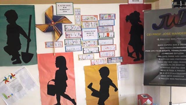 Exposição - Trabalho Infantil - NRE Boa Vista