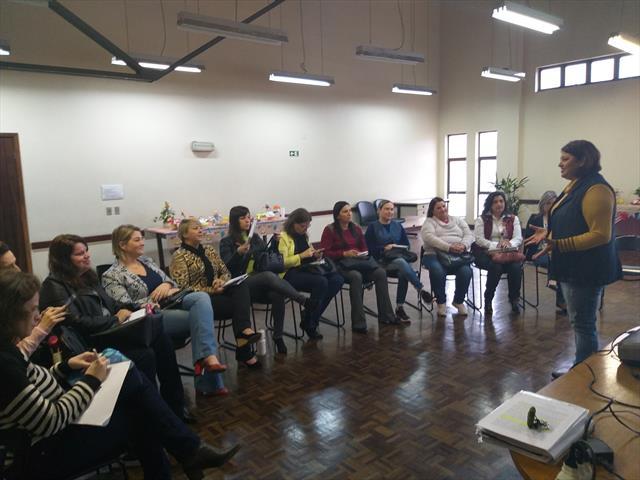 Reunião de Diretoras de CMEIs