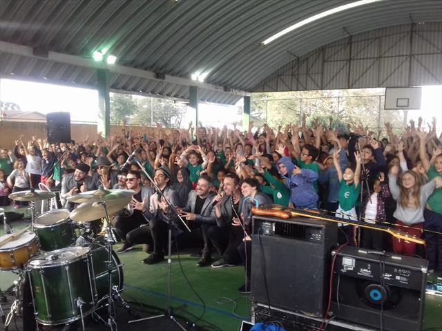 Escola Municipal CEI Bela Vista do Paraíso recebe o projeto Big Time nas Escolas
