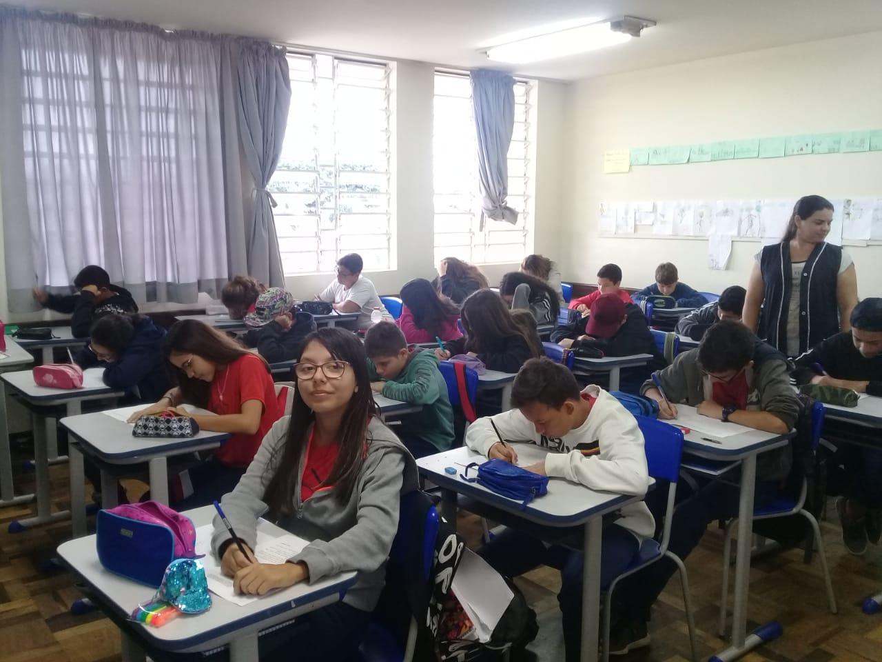Estudantes NRE Boa Vista