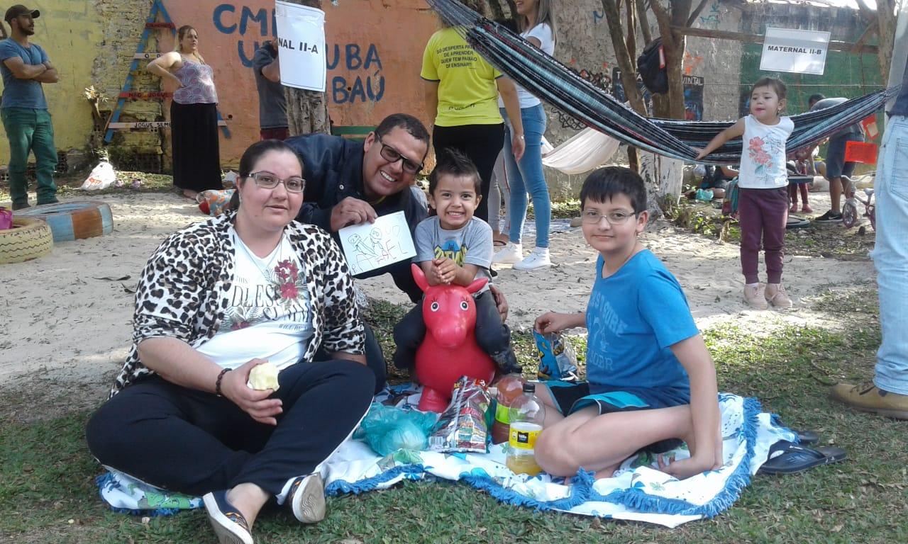 Dia da Família é sucesso no CMEI Ubatuba/Tambaú