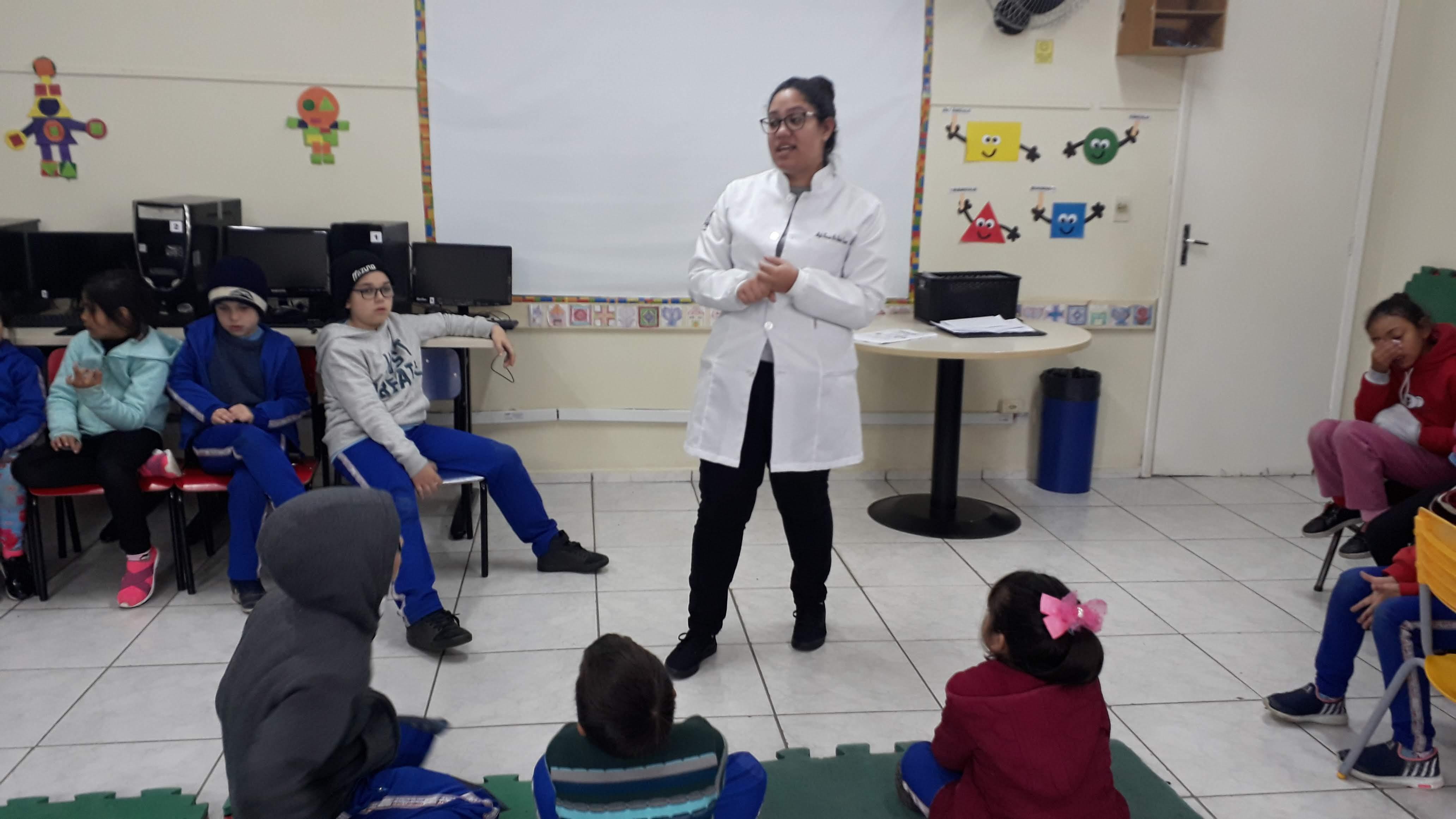 Unidade de Saúde na escola
