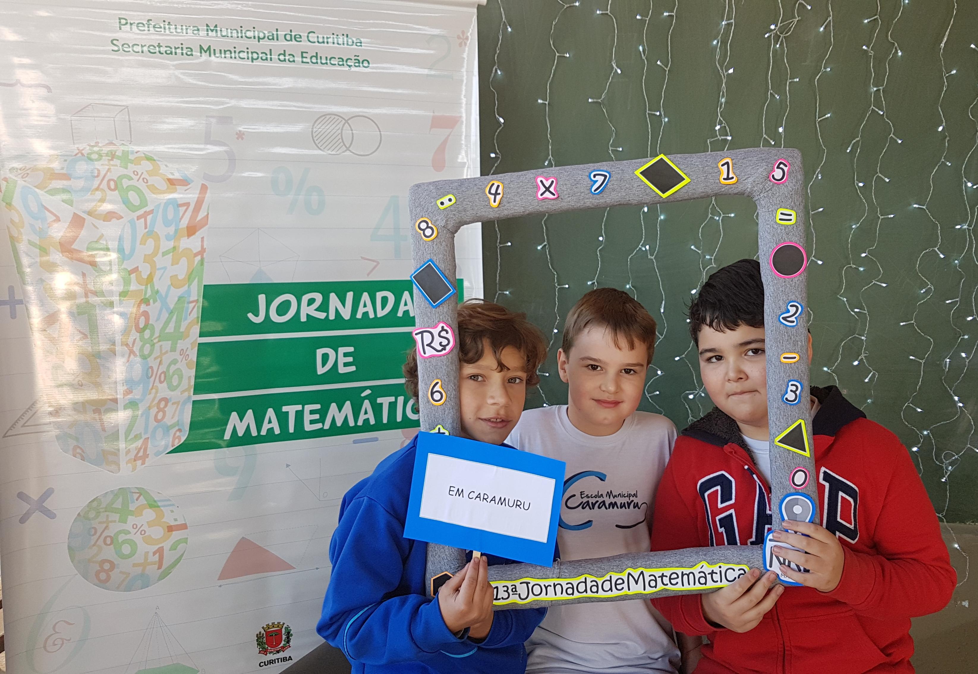 Representantes da Jornada de Matemática