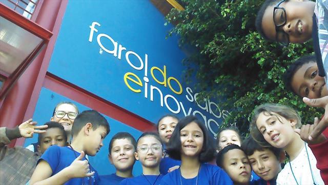 Estudantes da UEI visitam Farol do Saber e Inovaçã
