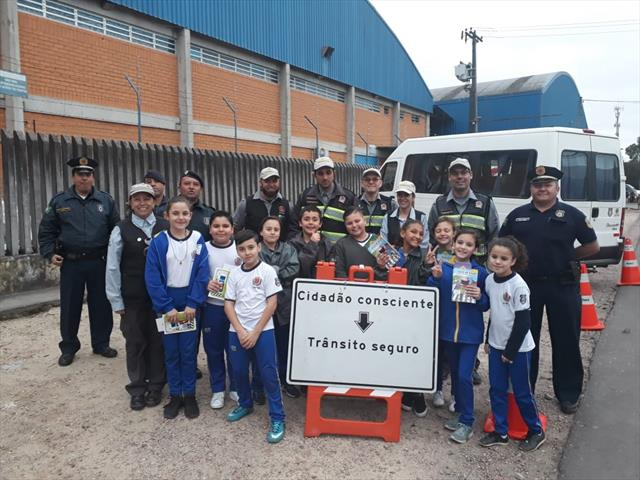Blitz Educativa com alunos da Guarda Mirim