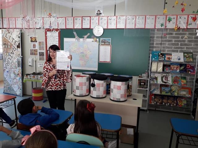 Projeto de leitura literária movimenta a Escola Municipal CEI Ulysses Silveira Guimarães
