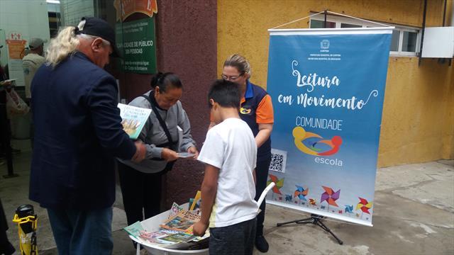 Leitura em Movimento na Rua da Cidadania Matriz