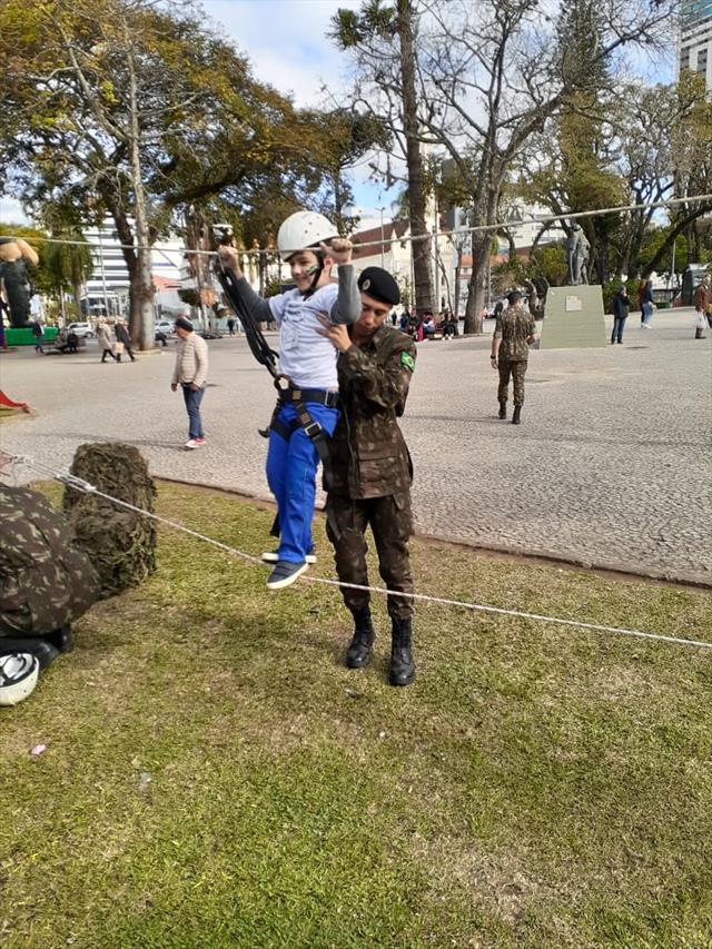 Passeio na Praça Rui Barbosa