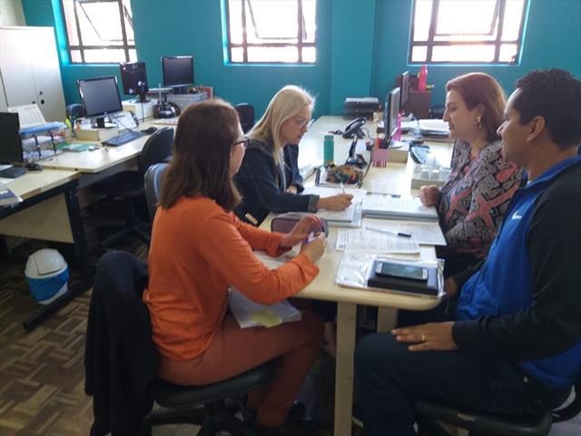 Devolutiva e discussão sobre o plano de trabalho