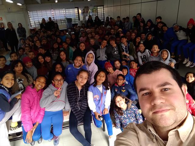 Visita de jornalista da Gazeta do Povo