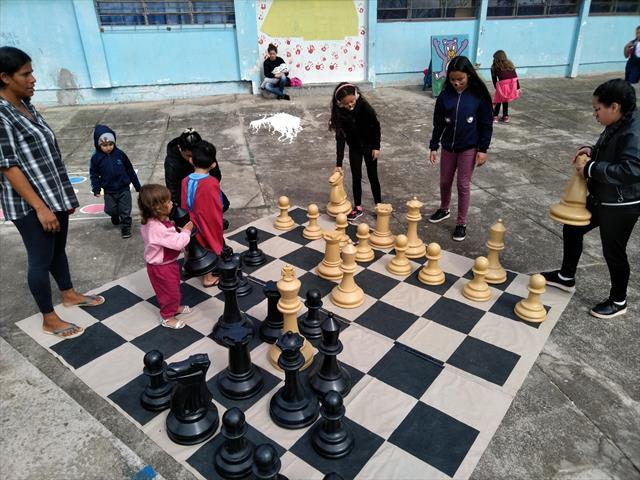 Inauguração do comunidade escola na EM Pilarzinho
