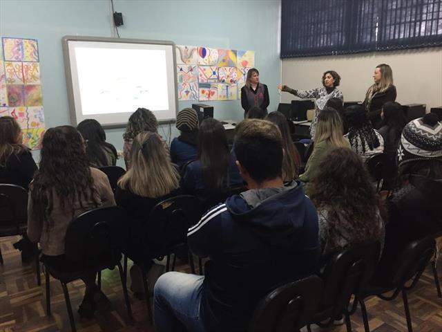 Visita Estudantes de Pedagogia