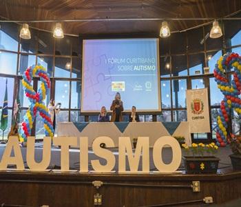 Abertura do I Fórum Curitibano sobre Autismo.Curi