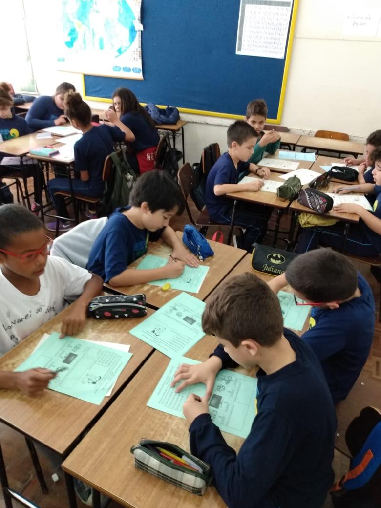 Estações de Aprendizagens Matemática