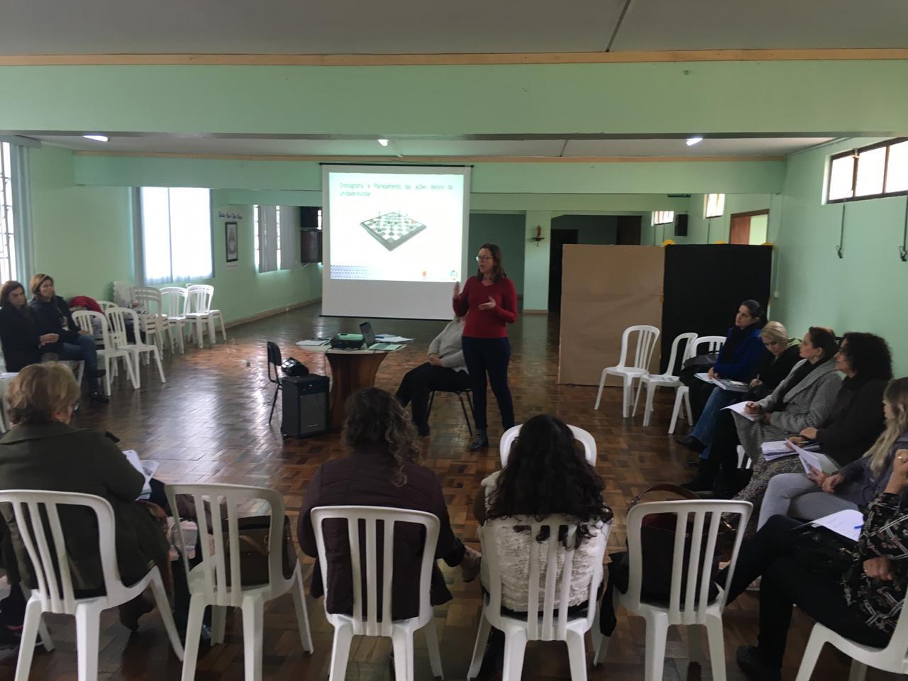 Reunião Pedagogas de escolas e CMEIs