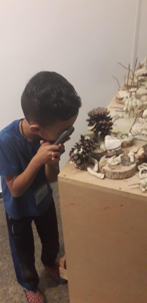 UEI Pilarzinho visita IV Bienal de Arte e Educação