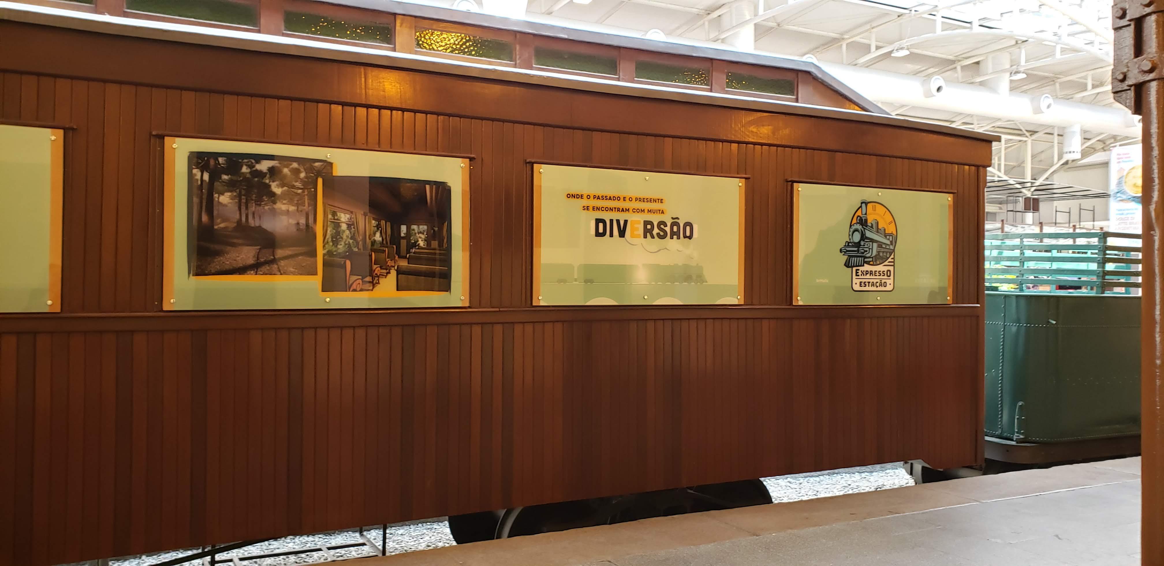 Museu Ferroviário - EM Paranaguá