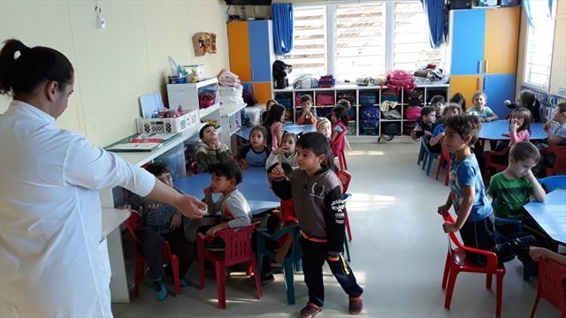 Saúde Bucal, parceria entre a Unidade de Saúde Pilarzinho e CMEI Cinderela
