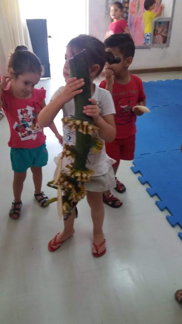 Nosso CMEI produz banana
