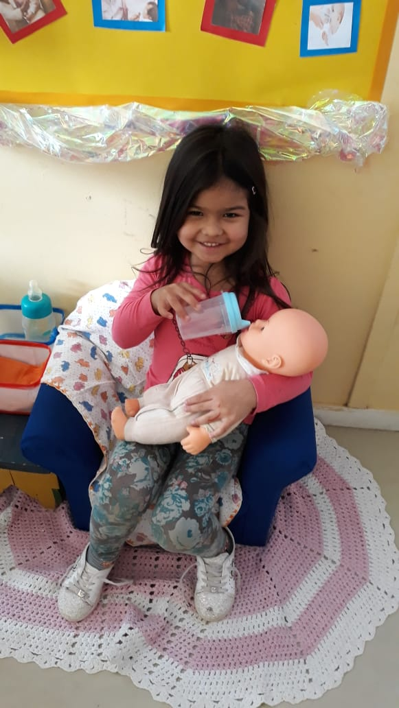 Programa Mama Nenê no CMEI Cinderela