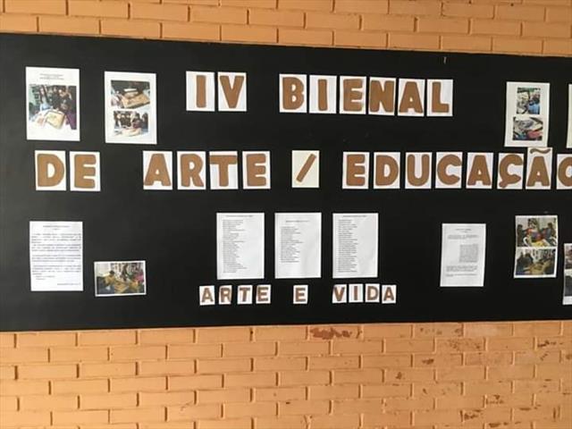 ESCOLA NYMPHA PEPLOW NA BIENAL DE ARTE EDUCAÇÃO