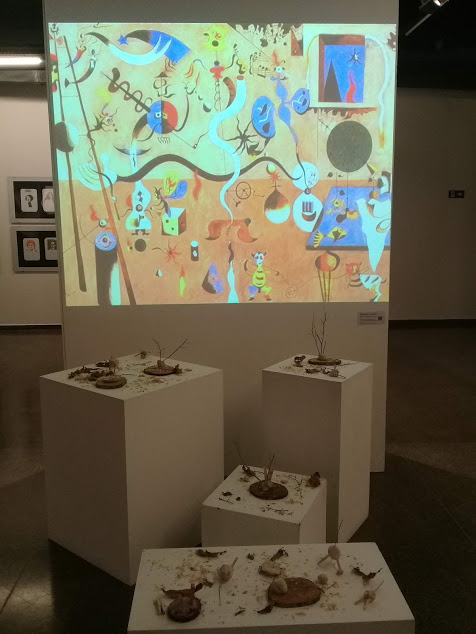 Obra Brincando com Miró