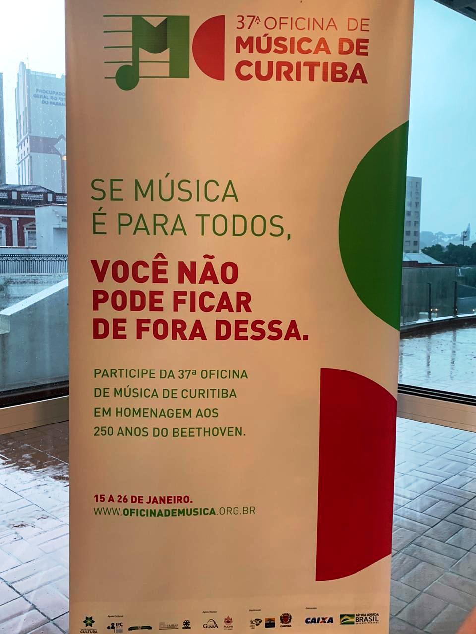 Professores da rede municipal participam da 37.ª Oficina de Música