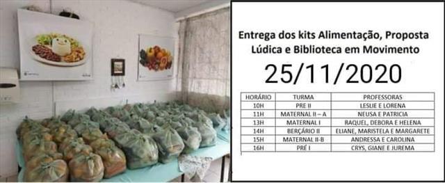 Kit Alimentação novembro