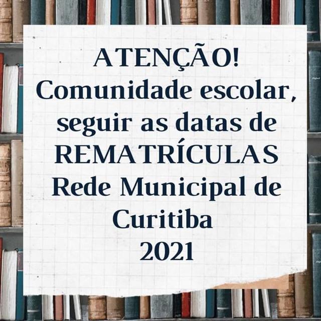 Rematriculas 2021