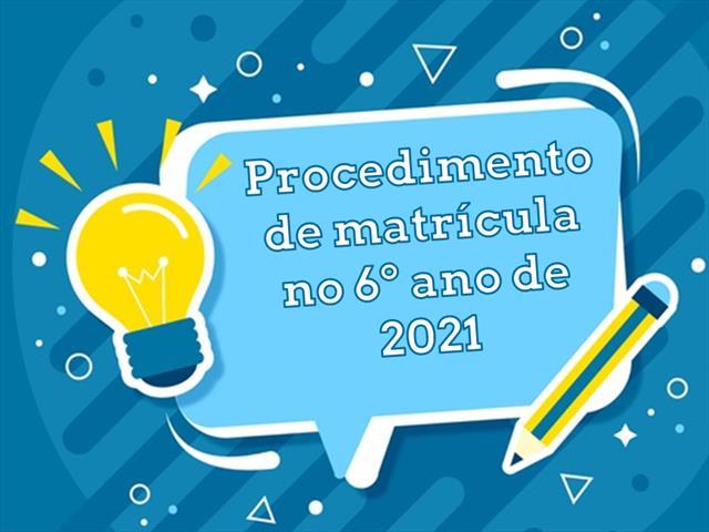 ATENÇÃO FAMÍLIAS DE 5º ANO: Procedimento de matrícula na Rede Estadual de Educação